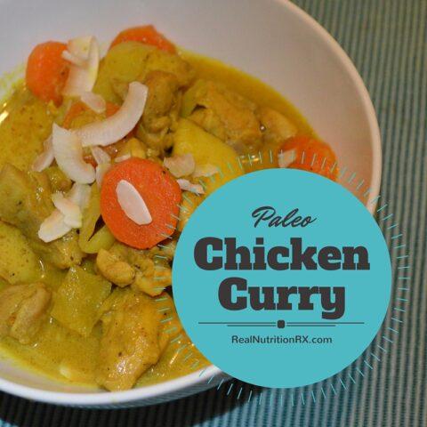 Paleo Chicken Curry