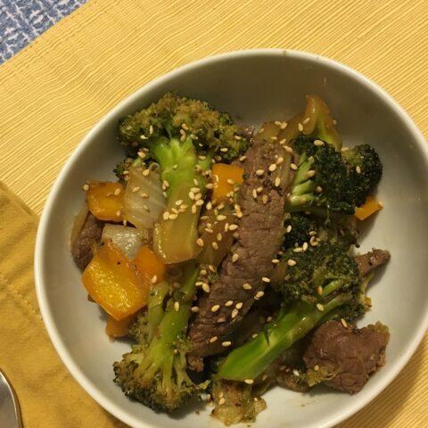 Paleo Beef Stir-Fry