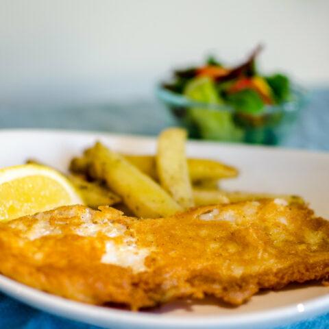 Gluten free fish chips
