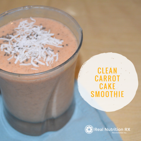 Clean Carrot Cake Smoothie