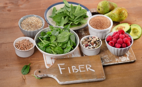low-FODMAP foods with fiber