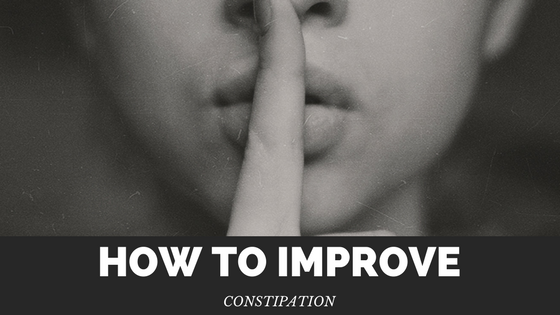 How to improve constipation