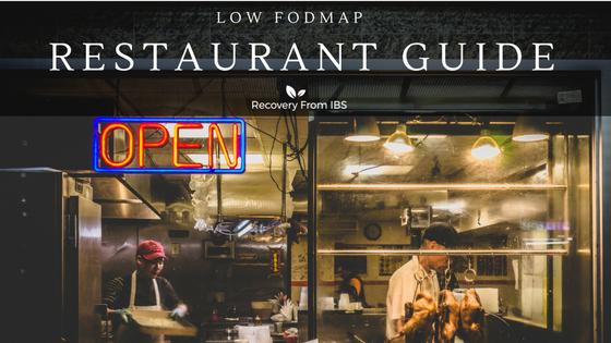 Low FODMAP Restaurant Order Guide
