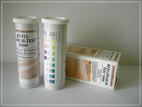 Glucose-Ketones-in-urine