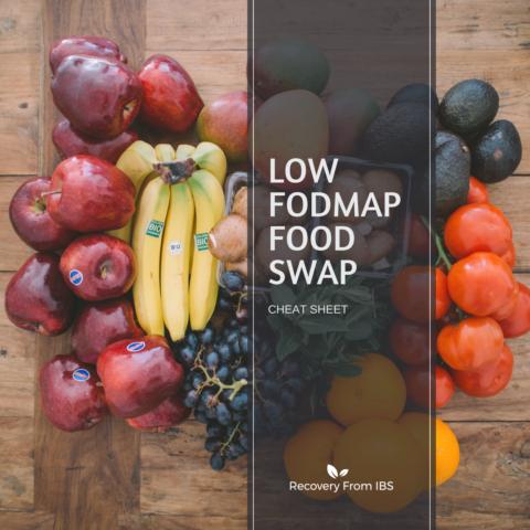 Low FODMAP Food Swap