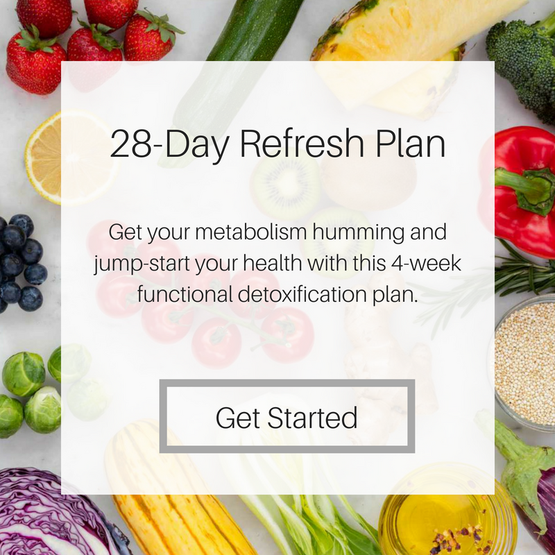 28 Day refresh Meal Plan