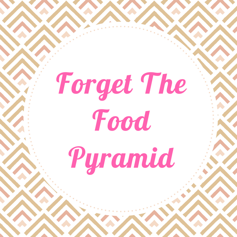 Forget the food pyramid