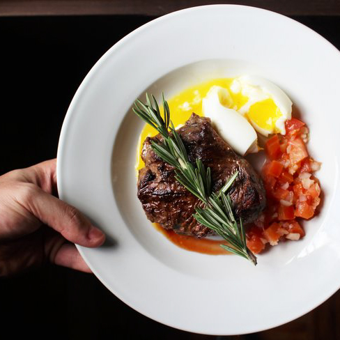 what to order at a steak house restaurant on a low fodmap diet