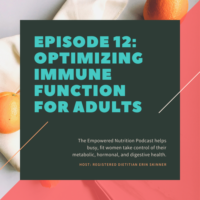 How to Optimize Immune Function For Adults
