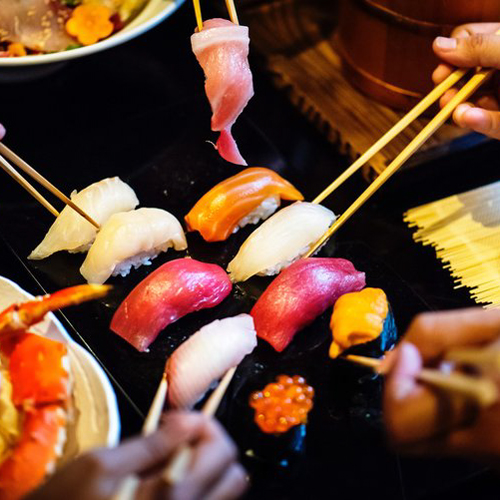 what to order at a Sushi restaurant on a low fodmap diet